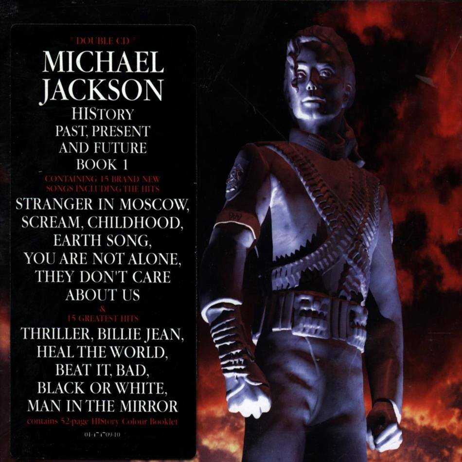 Michael Jackson - History - Past, Present And Future Book I (2 CDs)