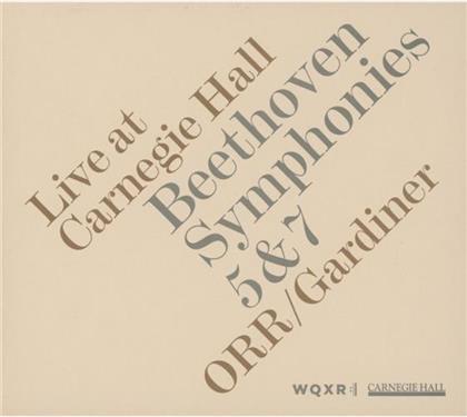 Gardiner John Eliot / Orr & Ludwig van Beethoven (1770-1827) - Sinfonien Nr 5 & 7