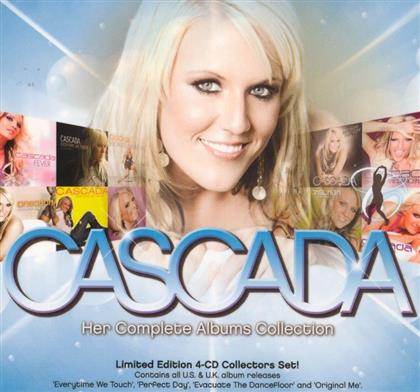 Cascada - Her Complete Album Collection (4 CDs)