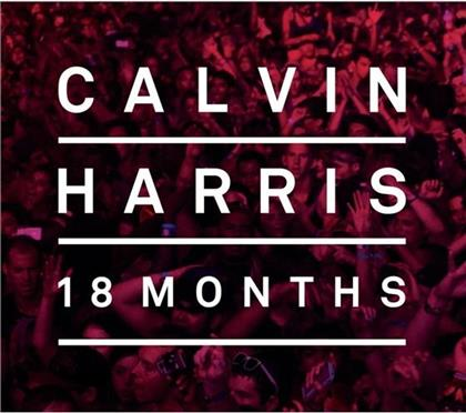 Calvin Harris - 18 Months (Deluxe Edition, 2 CDs)