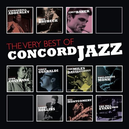 Very Best Of Concord Jazz - Various (10 CDs)