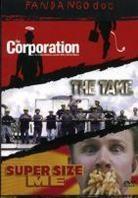 Fandango Doc - The Corporation / The Take / Super Size Me (3 DVD)