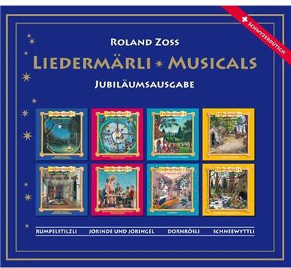 Roland Zoss - Grimm Liedermärli-Musicals (Remastered, 4 CDs)
