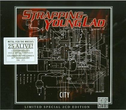 Strapping Young Lad - City - Limited 2013 Edition (2 CDs)