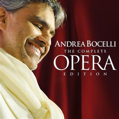 Andrea Bocelli & --- - Complete Opera Edition (18 CDs)