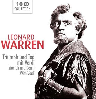 Leonard Warren & Giuseppe Verdi (1813-1901) - Triumph & Tod Mit Verdi (10 CDs)