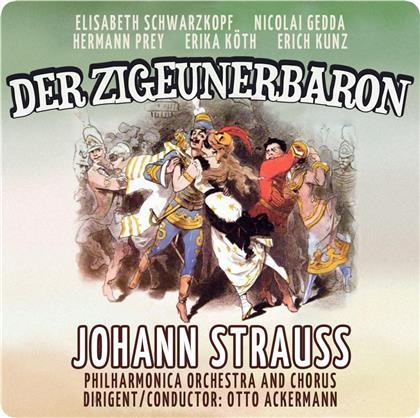 Hermann Prey & Johann Strauss - Zigeunerbaron (2 CDs)
