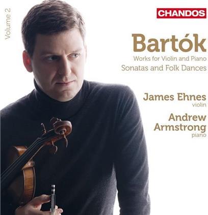Ehnes James / Armstrong Andrew & Béla Bartók (1881-1945) - Werke Für Violine & Klavier Vol. 2 (Remastered)