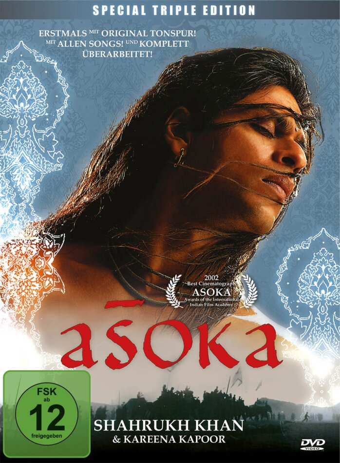 Asoka (2001) (Director's Cut, 3 DVDs)