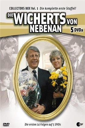 Die Wicherts von Nebenan - Staffel 1 (Box, Collector's Edition, 5 DVDs)