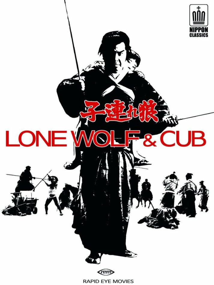 Lone Wolf & Cub - Vol. 1 - 6 (6 DVDs)