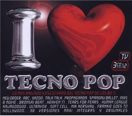 I Love Tecno Pop Vol.1 (3 CDs)
