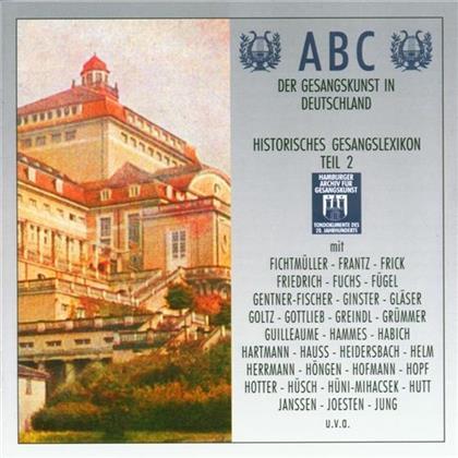 Div. Klassik - Abc Der Gesangskunst 2 (2 CDs)