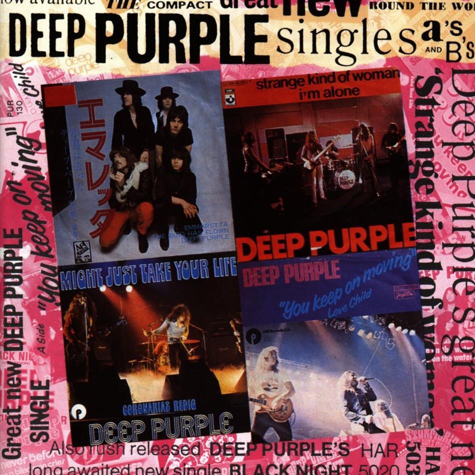 Deep Purple - Singles A & B