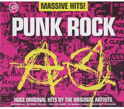 Massive Hits - Various - Punk Rock (3 CDs)