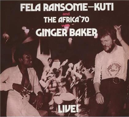 Fela Anikulapo Kuti - Fela With Ginger Baker - Live (Remastered)