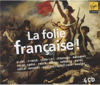 Tharaud / Fray / Ebene / Hendricks / + & Bizet / Chabrier /Ravel / Massenet / + - La Folie Francaise (4 CDs)