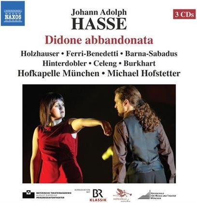 Theresa Holzhauser, Flavio Ferri-Benedetti, Johann Adolf Hasse (1699-1783) & Hofkapelle München - Didone Abbandonata (3 CDs)