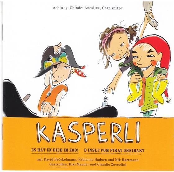 Kasperli - Es Hät En Dieb Im Zoo!/Pirat Ohnibart