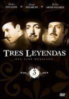 Tres leyendas del cine mexicano (2 DVDs)