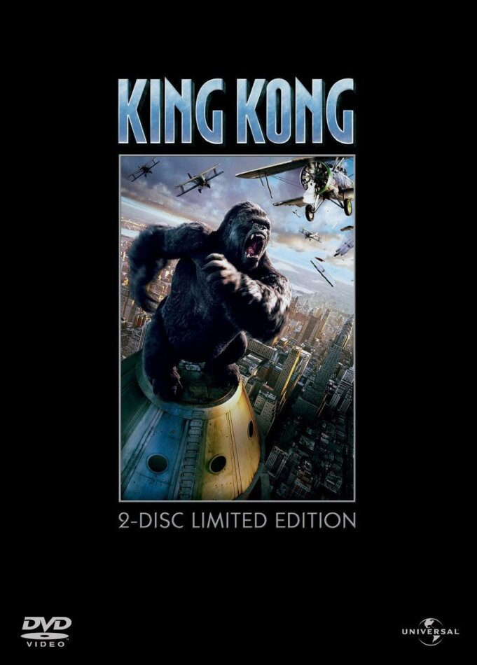 King Kong (2005) (Limited Edition, 2 DVDs)