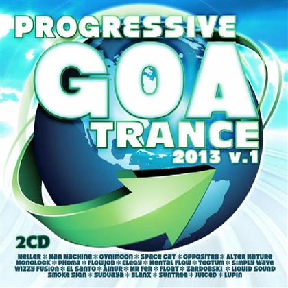 Progressive Goa Trance - Various 2013/1 (2 CDs)