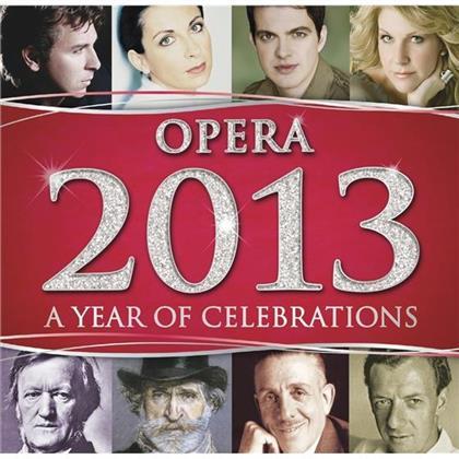 Jaroussky / Didonato / Alagna / Dessay & Wagner / Verdi / Poulenc / Britten / + - Opera 2013 (2 CDs)