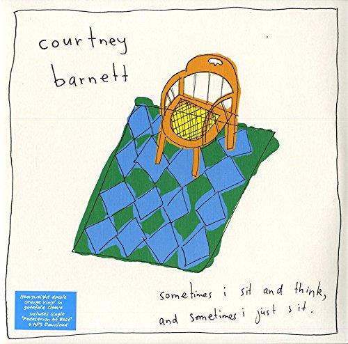 Courtney Barnett - Sometimes I Sit And Think And Sometimes I Just Sit - Limited Orange Vinyl + 7 Inch (Colored, LP + Digital Copy)