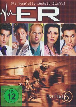 ER - Emergency room - Staffel 6 (6 DVDs)