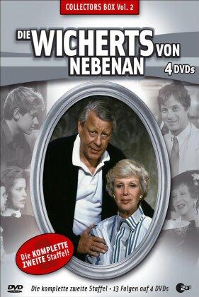 Die Wicherts von Nebenan - Staffel 2 (Box, Collector's Edition, 4 DVDs)
