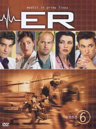ER - Medici in prima linea - Stagione 6 (4 DVD)