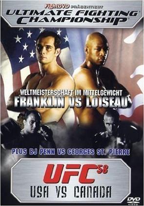 UFC 58 - USA vs. Canada