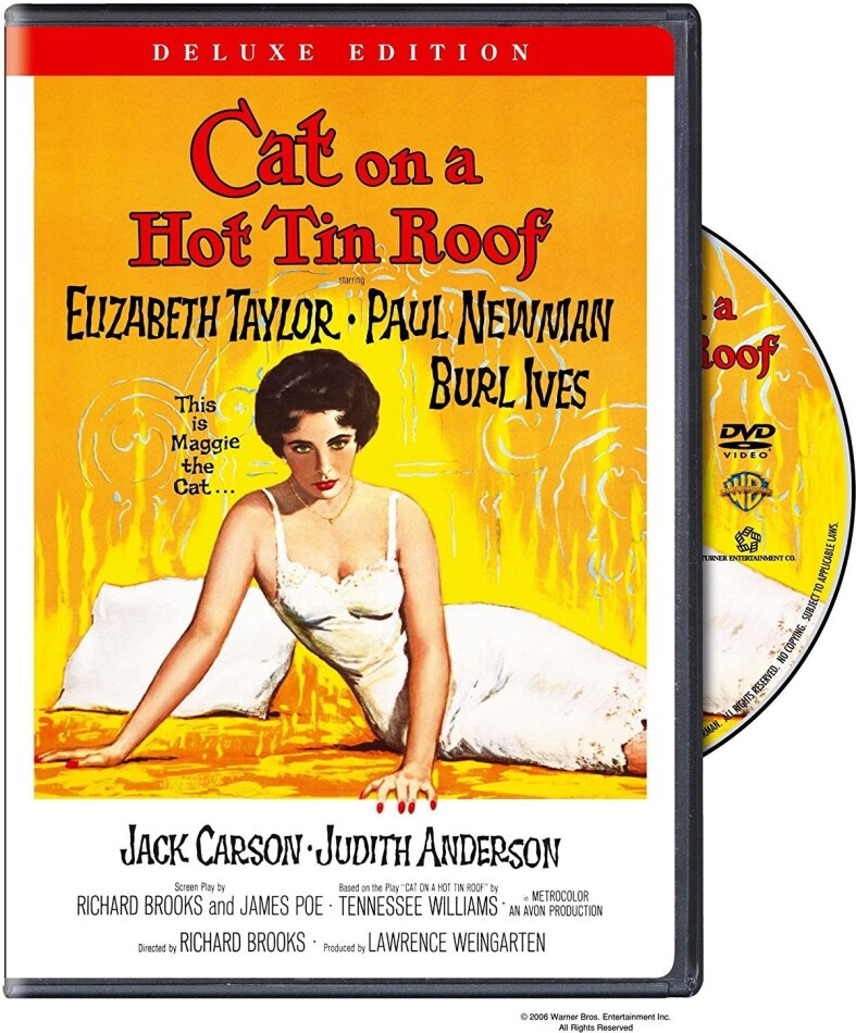 Cat on a hot tin roof (1958) (Deluxe Edition)