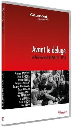 Avant le déluge (1954) (Collection Gaumont à la demande, s/w)