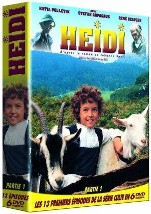 Heidi - Partie 1 (Box, 6 DVDs)