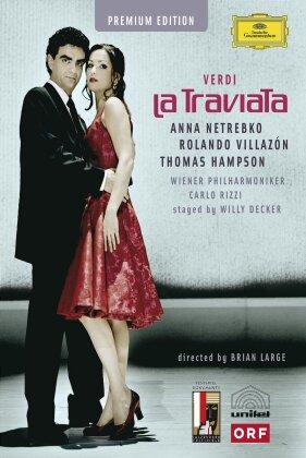 Wiener Philharmoniker, Carlo Rizzi, … - Verdi - La Traviata (Deutsche Grammophon, Unitel Classica, Salzburger Festspiele, Deluxe Edition, 2 DVDs)
