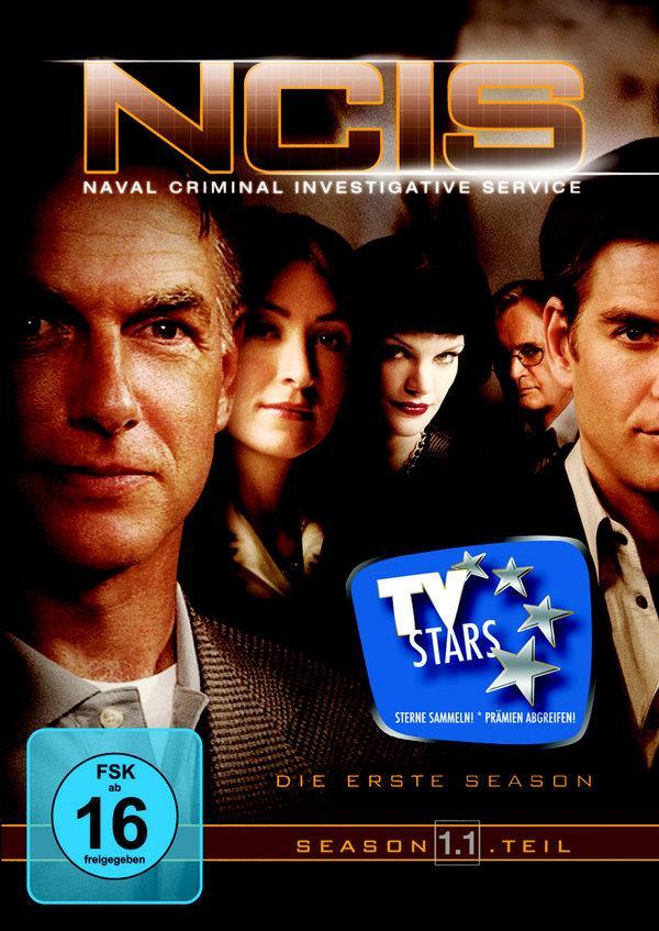 NCIS - Navy CIS - Staffel 1.1 (Repack) (3 DVDs)