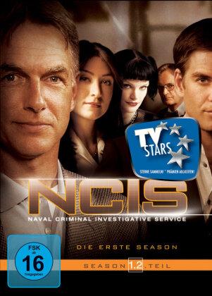 NCIS - Navy CIS - Staffel 1.2 (Repack) (3 DVDs)