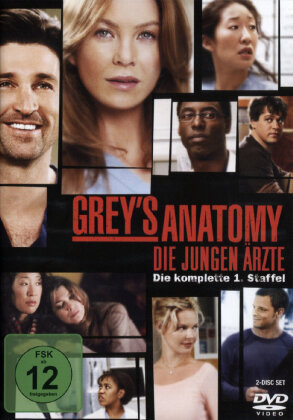Grey's Anatomy - Staffel 1 (2 DVDs)