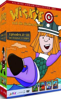 Wickie und die starken Männer 2 - (Junior-Collection 4 DVDs)