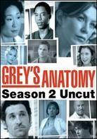 Grey's Anatomy - Season 2 (Uncut, 6 DVDs)
