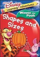 Winnie the Pooh - Shapes and sizes