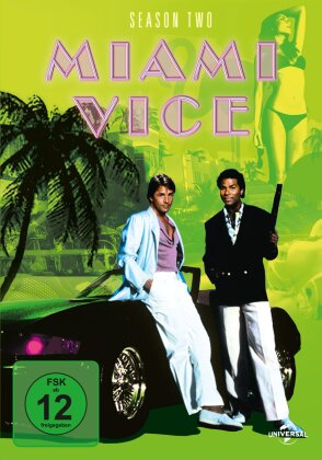 Miami Vice - Staffel 2 (6 DVDs)