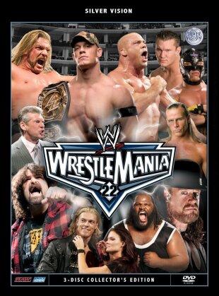 WWE: Wrestlemania 22 (Collector's Edition, 3 DVD)