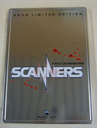 Scanners Trilogie (Steelbook, 3 DVDs)