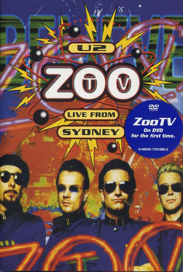 U2 - Zoo TV - Live from Sidney