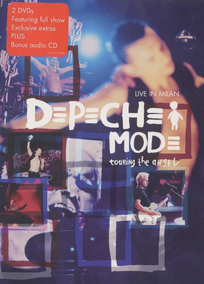 Depeche Mode - Touring the Angel - Live (Deluxe Edition, 2 DVDs + CD)