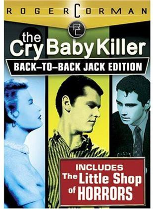 The Cry Baby Killer / The Little Shop of Horrors - (Back-to-Back Jack Edition 2 DVDs)