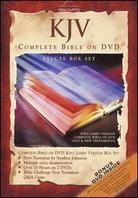 KJV complete bible on DVD (Deluxe Edition, 3 DVDs)
