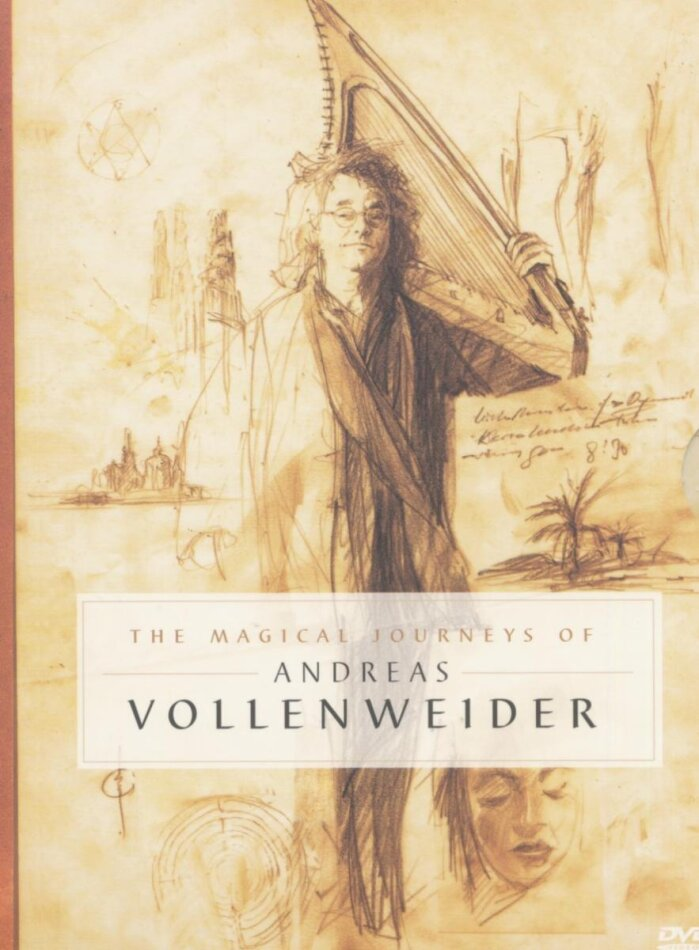 Vollenweider Andreas - The magical journeys of... (2 DVDs)